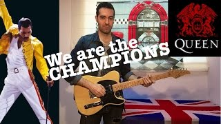 We are the champions - Instrumental guitar cover (Queen)