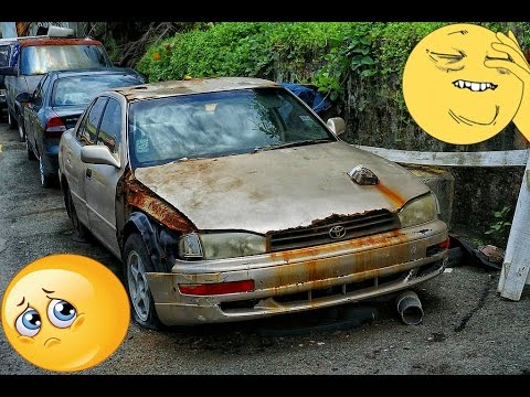 Abandoned Toyota An Cars Modern And Old You