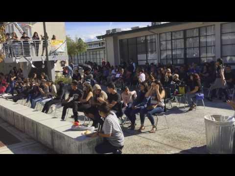 Dia De Los Muertos (Day of the Dead) at James Lick High School 2016