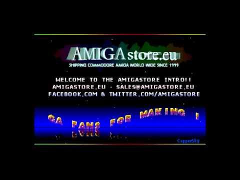 """Amiga """"AMIGAStore Cracktro"""""""
