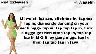 """Saweetie """"Tap In"""" (Lyrics)"""