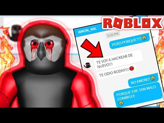 AMON_40L ME HABLA EN ROBLOX!!! 😰 *mira lo que me dijo*