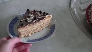 Торт из готовых бисквитных коржей!