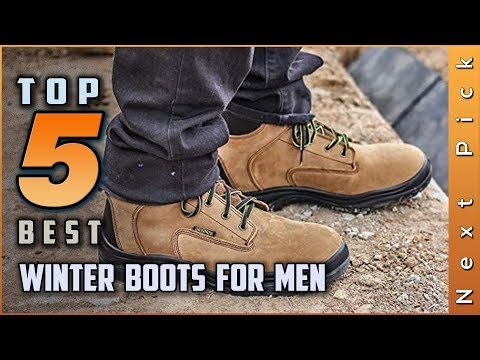 Top 5 Best Winter Boots For Men Review in 2020