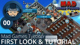 FIRST LOOK / TUTORIAL - Mad Games Tycoon - Guides & Early Access