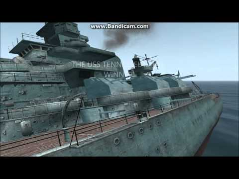 Silent Hunter 3 Ship Battle: USS Tennessee Vs Yamashiro