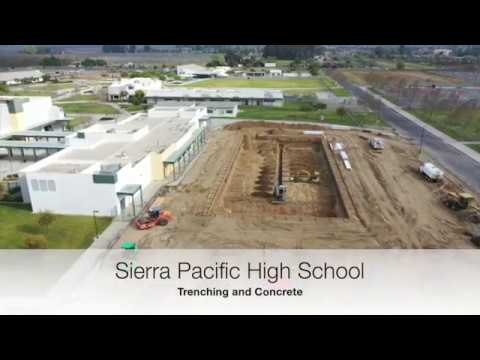 Sierra Pacific High School - Concrete and Trenching
