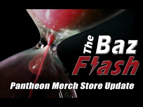 Baz Flash EP11: Merch Store