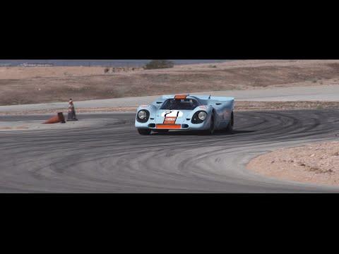 Porsche 917 Shakedown for Rennsport Reunion V