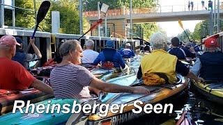 Rheinsberger Gewässer, Kanutouren, Ferieninsel Tietzowsee, Tura-Kanusport Bremen.