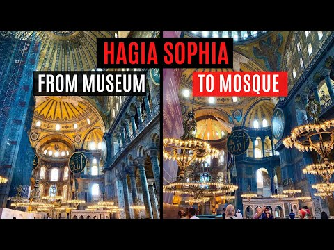 HAGIA SOPHIA | FIRST VISIT AS A MOSQUE
