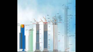 tallest Block Dubai Baufortschritt 2008-2011