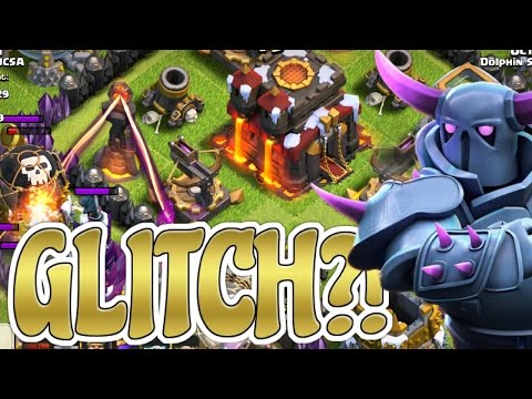 NEW CLASH OF CLANS GLITCH! - CHRISTMAS UPDATE XBOW GLITCH!
