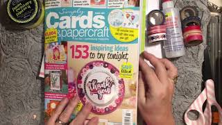 Michael's haul - Junk journal supplies - I went in for fabric tac😉. Magazine at 3:58