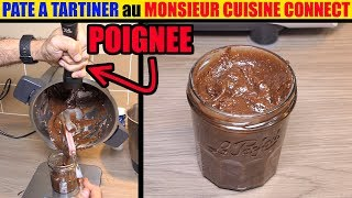 Pâte à tartiner monsieur cuisine connect plus maison nutella au noisette thermomix