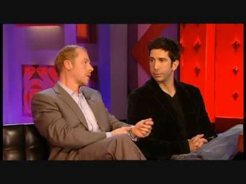 Simon Pegg & David Schwimmer on Friday Night 2006.11.24 (HQ)