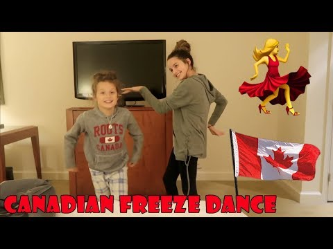 Canadian Freeze Dance 💃 (WK 357.7) | Bratayley