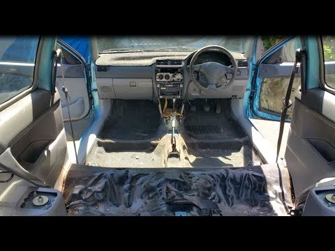 Restoring the Car Interior for $80.00 Part 1