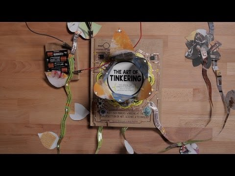 Hack This Book: The Art of Tinkering's Conductive Ink Cover I Exploratorium