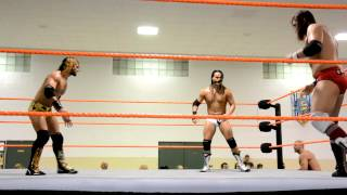 6/20/12 Seth Rollins vs Bo Dallas vs Antonio Cesaro vs Kassius Ohno - Part 1
