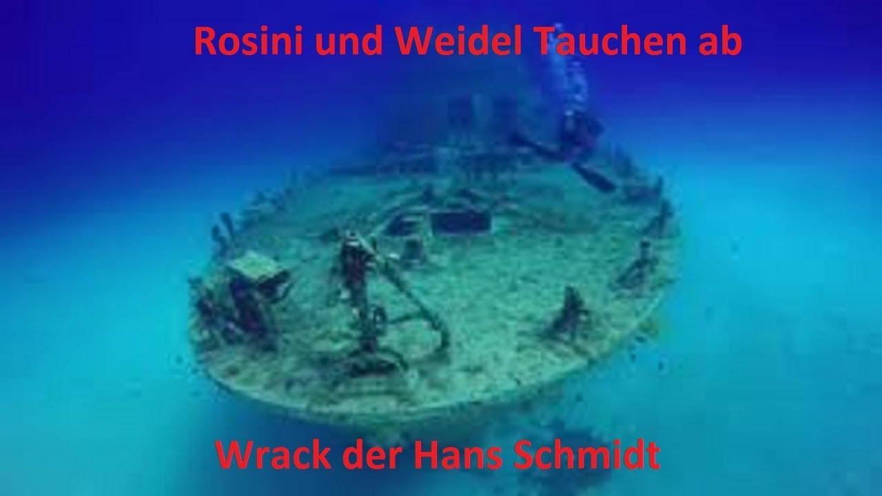 Das Wrack der Hans Schmidt