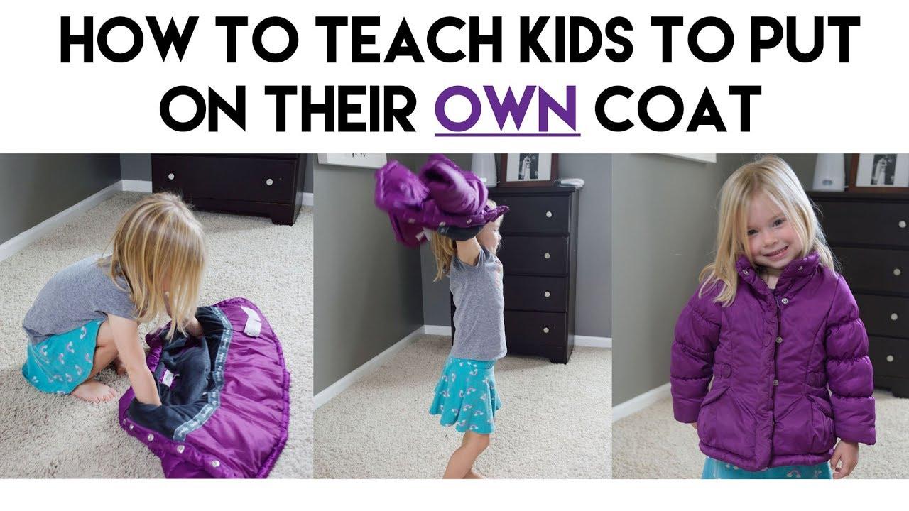 02415bf0edc2 Teach Kids to Put On Their Own Coat (Tips from a Preschool Teacher ...