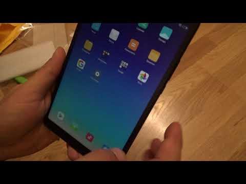 Распаковка! Xiaomi Mi Pad 4 и чехол к нему