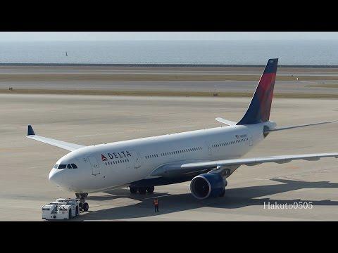 Delta Air Lines Airbus A330-223 N861NW Take off at Nagoya