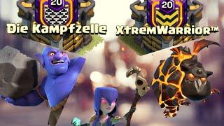 deutscher Clankrieg die Kampfzelle vs XtremWarrior RH 11 Teil 1 | Clash of Clans Deutschland CoC