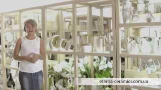 Eterna: коллекция «Восточный шелк» (вазы для цветов и керамические декоры)(, 2013-07-25T07:43:24.000Z)