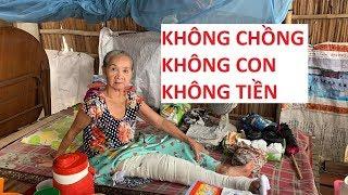 Cuộc sống không chồng, không con, không tiền của bà cụ bị tai nạn giao thông!!!