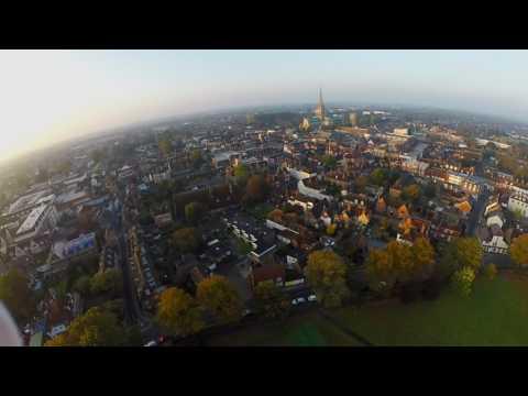 Drone over Chichester