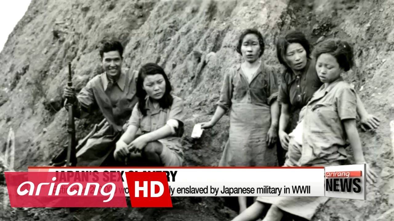 Footage Of Korean Womenually Enslaved By Japanese Soldiers In Wwii Revealed For The First Time