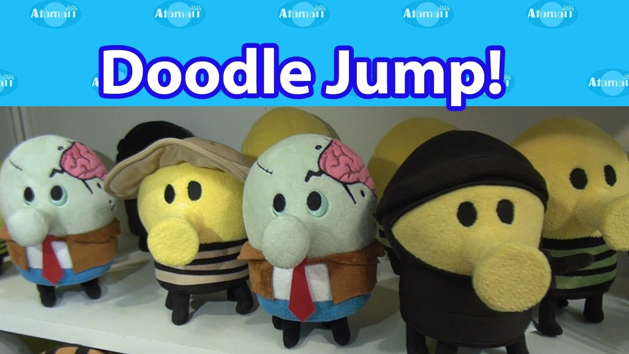 Doodle jump toys nuremberg toy fair preview youtube