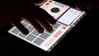 Making Chill/Happy Electronic Music in Realtime/Live on AKAI iMPC for iPAD - Free to use