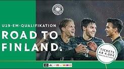 U 19-Junioren: Deutschland gegen die Niederlande