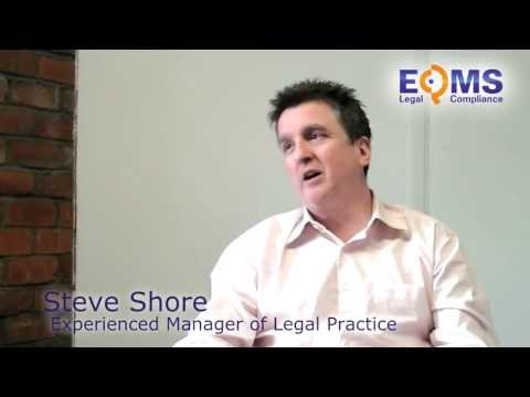 Steve Shore on the background & genesis of EQMS Legal.mp4