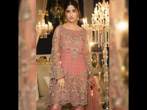 04737d0b6c Maria b Party Wear Dress 2018 | Maria B Luxury Collection 2018 - YouTube