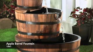 13841 - Apple Barrel Fountain