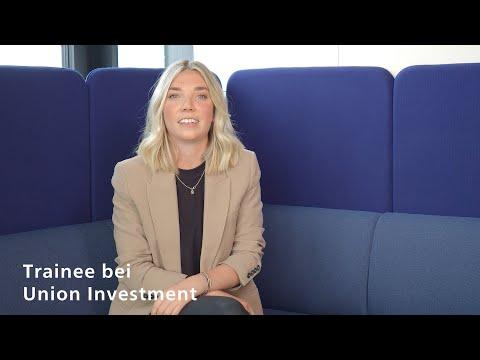 Helena Irmscher stellt das Traineeprogramm von Union Investment vor.