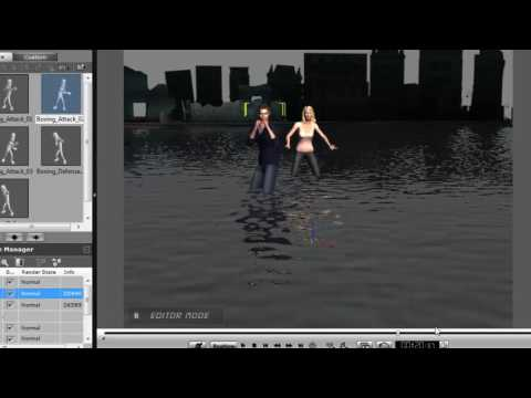 how to include animation in actor in iclone 5 part 5 hindi by privyansh