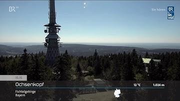 Panoramabilder LIVE - Bergwetter & Alpenblick BR-Livestream 08.05.2020