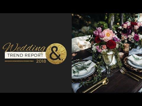 The International Wedding Trend Report 2018