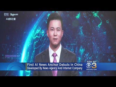 World's First Artificial Intelligence News Anchor Debuts In
