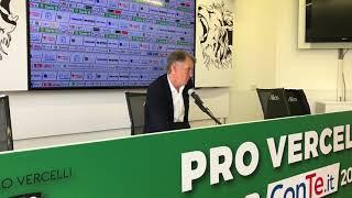 Tesser commenta Pro Vercelli-Cremonese 1-4