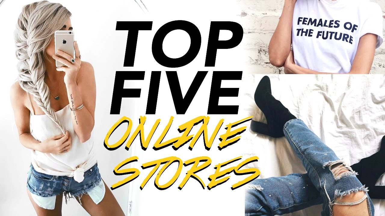 5 Places to Shop Online (cute clothes for cheap pt. 2!) - YouTube