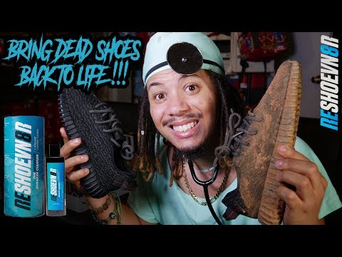 DOES THIS STUFF ACTUALLY WORK !?! BRINGING THE DEAD YEEZYS BACK TO LIFE !! RESHOEVN8R LAUNDRY SYSTEM