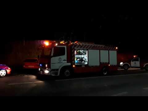 Un fallecido en una colisión entre dos turismos en Trabada