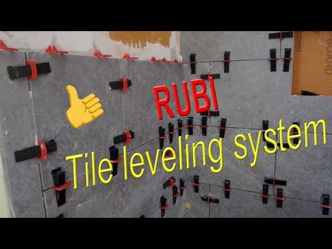 How to use Rubi Tile leveling system to eliminate tile lippage.
