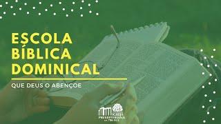 EBD - Jesus, a verdadeira Páscoa - Rev. Renato Romão - 04/04/2021